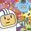 Spaceman vs Monsters - Help a brave space crew that landed on unknown planet to free itself from dangerous but very funny looking monsters