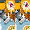 Spot The Difference - Smart Dog - This is a fun spot the difference game. This game is telling a very funny joke about a smart dog and its master. Please find out 5 differences between two pictures on each level and enjoy this hilarious joke!