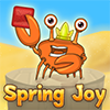 Spring Joy - Tile shooter where you need to pop or drop tiles dangling from bouncy springs above the rising ocean. As time goes on, the water rises. Make clusters of tiles of the same color to score points and clear the level. Drop tiles in the ocean to lower the water. Don't let the water get too high!