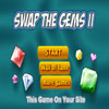 Swap The Gems 2 - Destroy gems by creating lines of 3 or more gems of the same kind. Move the gems by using the mouse to click and swap adjacent gems.