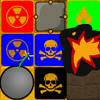 Symbol Bust - Symbol Bust is kinda like bingo in that you must fill lines to clear pieces and get the board to turn gold to advance to the next level. The difference is that you must match symbols and colors in this addictive puzzle matching game.