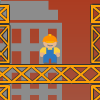 Take It Down - Destroy the blocks to demolish the building under the level line without damaging nearby buildings and protecting the workers from hitting the ground.
