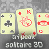 Tri Peak Solitaire 3D - Look at old classical solitaire with a fresh pair of eyes! Try the first game in the series of 3D solitaires. 