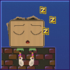 Wake Up the Box - Mr. Box sleeps too much. Wake him up in this physic puzzle game.