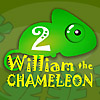 William the Chameleon 2 - William the Chameleon does not like to stand out. Move him to a place where he can perfectly blend in with the surroundings. Go through 20 random levels in time.