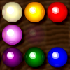 Woodbox Marble Lines - Try to line up 5 or more marbles with the same color to make them disappear. This puzzle game has unlimited undo!