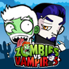 Zombies vs Vampires - The vampires era is done. Too much handsome and pretty vampires all over the movies, while zombies will always stays ugly, smelly, and rotten.