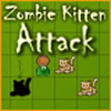 Zombie Kitten Attack - Help Steve to survive.
