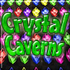 Crystal Caverns - Make matches of three or more gems in a line by dragging rows or columns.