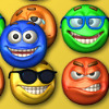Smiley Puzzle - Shift rows or columns of smiles to match three or more the same smiles to the groups. Groups of the same smiles will disappears and give the score points to you. This game have two modes.