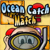 Ocean Catch Match - Your uncle has collected some sea creatures and other items from the ocean, but he needs your help to sort them all.