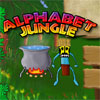 Alphabet Jungle - You will be given six letters from which you have to spell words. You must spell as many words as you can in the given time so you aren't boiled in the pot.
